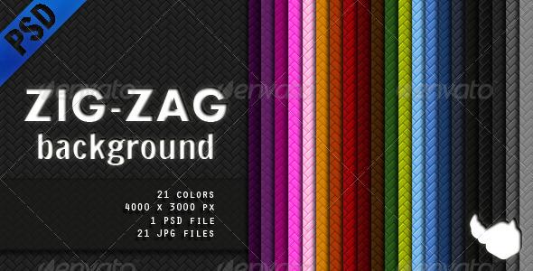 GraphicRiver Zig Zag Background 1505507