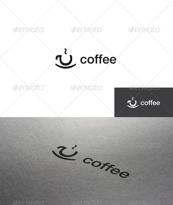 GraphicRiver Letter Coffee Logo 1505518