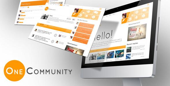 OneCommunity 2.0 – BuddyPress Theme