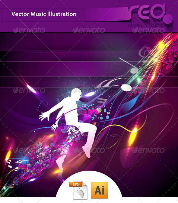 GraphicRiver Dance Party Vector Template Design 1508195