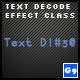 Text Decoder Effect Class - ActiveDen Item for Sale