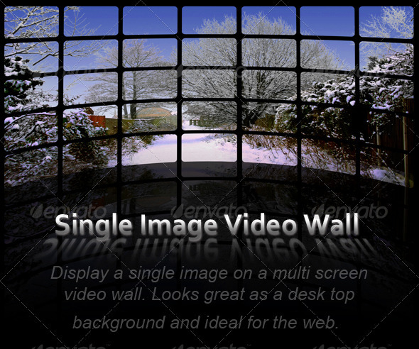 GraphicRiver Single Image Video Wall Action Pack 85275