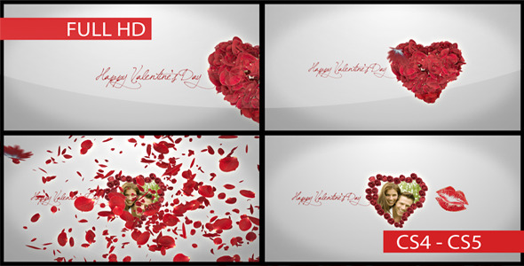 After Effects Project - VideoHive Happy Valentine's Day and Butterfly Kiss  ...