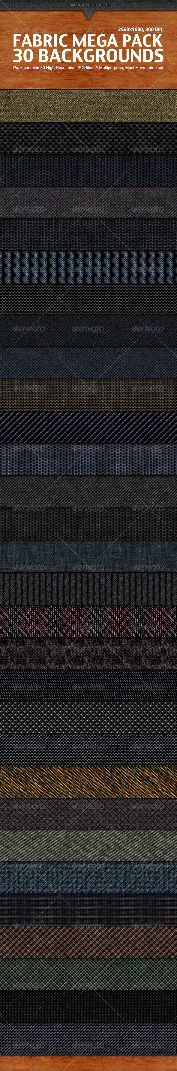 Graphic River Fabric Mega Pack Graphics -  Backgrounds  Patterns 1512042