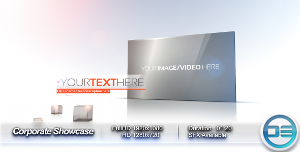 After Effects Project - VideoHive Corporate Showcase 178904