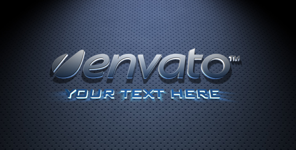 After Effects Project - VideoHive Extrusion Gold Blue 179168