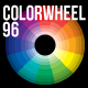 Classic Color Theory Wheel 96 Clean Print Colours - GraphicRiver Item for Sale