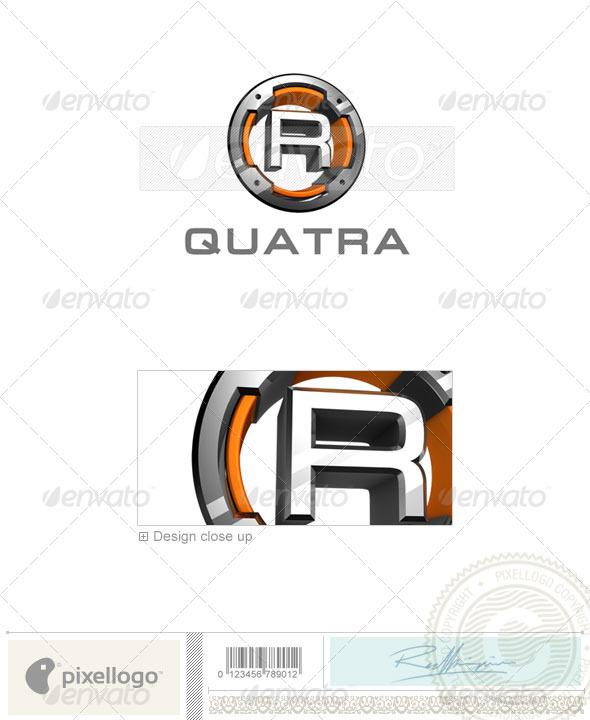 GraphicRiver R Logo 3D-494-R 524569