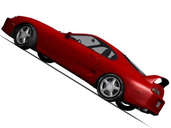 3DOcean Toyota Supra 1516456