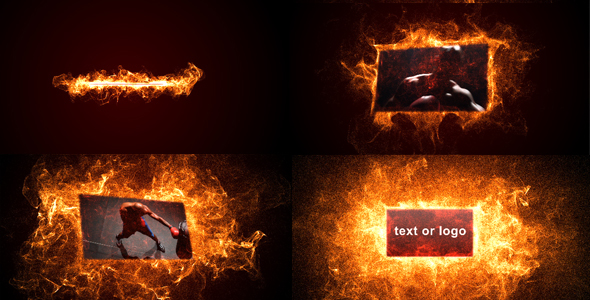 After Effects Project - VideoHive Hot particles 168659