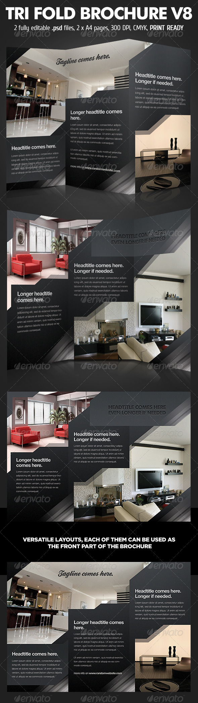 GraphicRiver TriFold Brochure V8 1520771