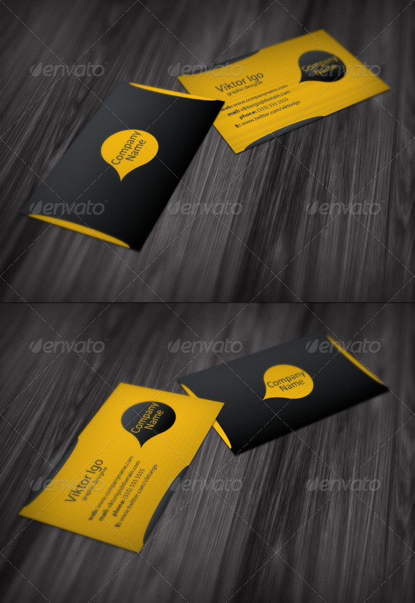 GraphicRiver Graphic Designer Business Card 1524341