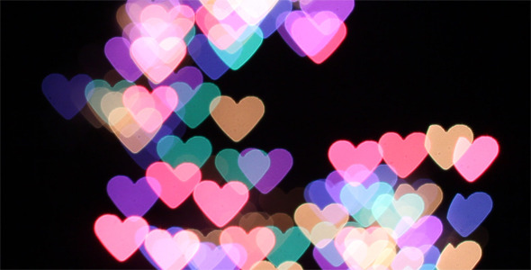 VideoHive Heart Shaped Bokeh Fireworks Pack 1524553