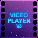 Video Player V3 - ActiveDen Item for Sale