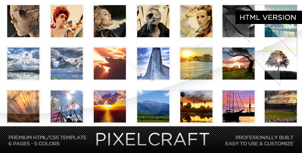 Html photo gallery website template free 20 html gallery website.