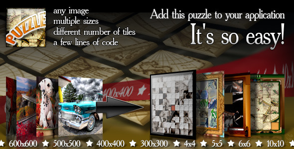 ActiveDen Puzzle in Your Application 1526991