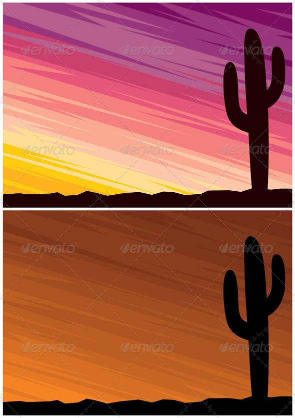 GraphicRiver Desert Cactus 1527517