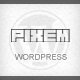 Pixem -Responsive Portfolio/Studio WordPress Theme - ThemeForest Item for Sale