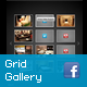 Grid Gallery for Facebook Fan Page or Wordpress - ActiveDen Item for Sale