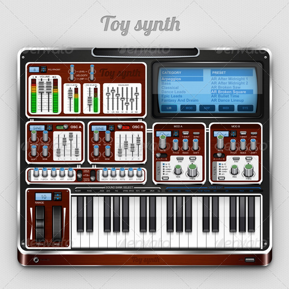 GraphicRiver Toy Synth 1529445