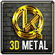 3D Gold & Steel  - GraphicRiver Item for Sale