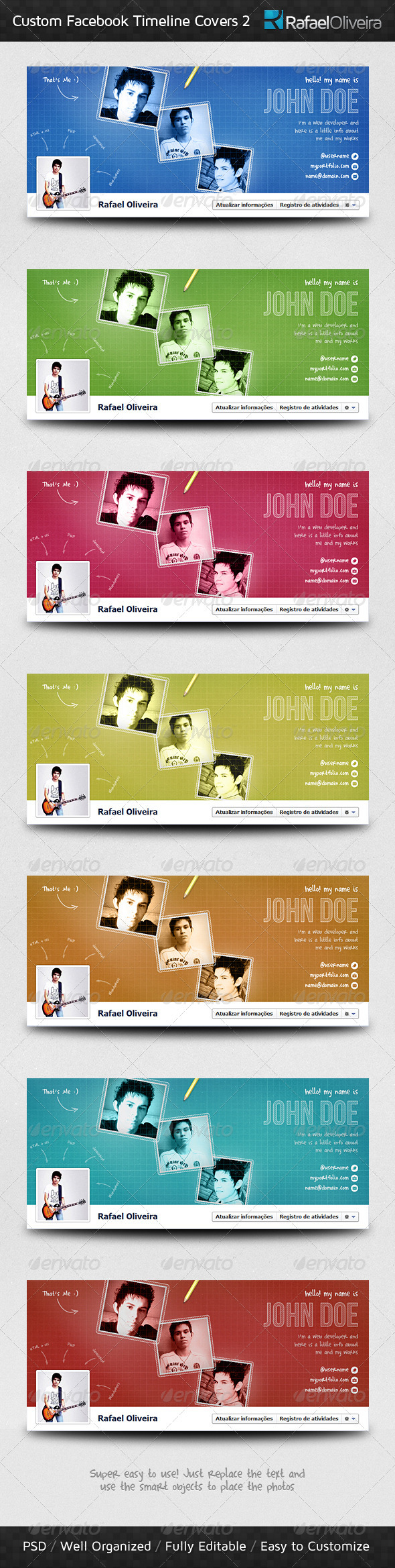 GraphicRiver Custom Facebook Timeline Covers 2 1501861