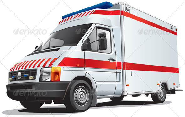GraphicRiver Ambulance Car 1533577