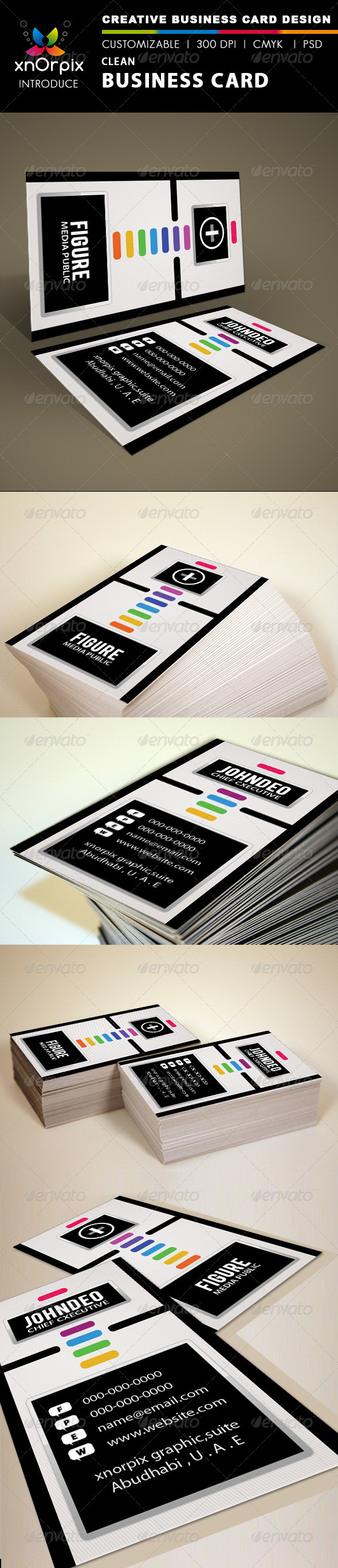 GraphicRiver Clean Business Card 1535222