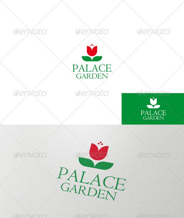 GraphicRiver Palace Garden Logo 1538543