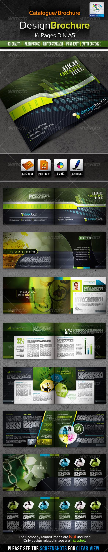 GraphicRiver DesignBrochure 16pages Corporate Catalog Brochure 1540484
