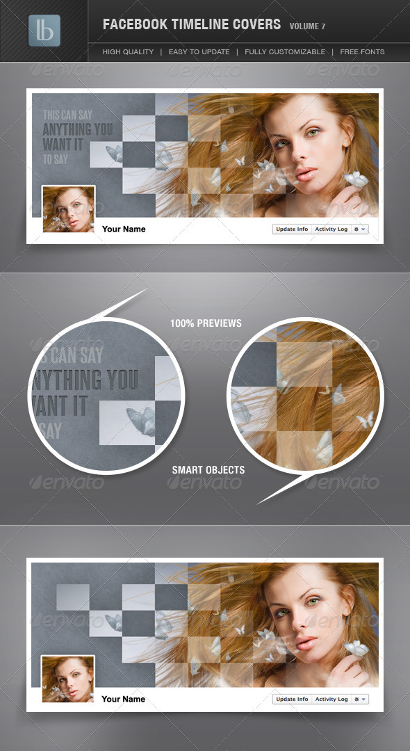 GraphicRiver Facebook Timeline Cover Volume 7 1530154