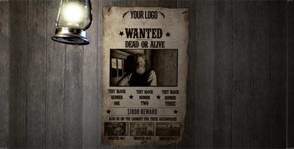 After Effects Project - VideoHive Most Wanted 182561