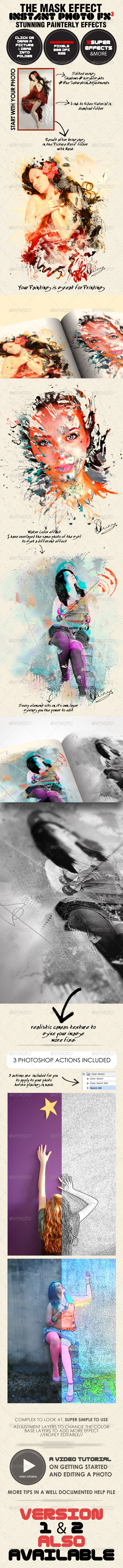 GraphicRiver Photo-Fx-Auto Mask#3 Stunning Photo Effects 1535843