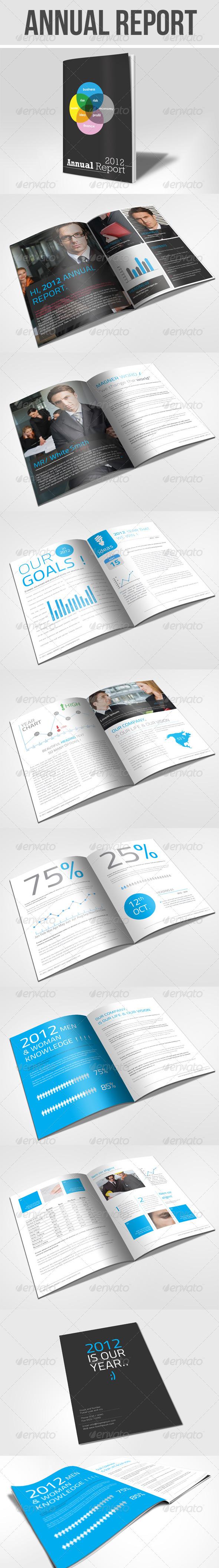 GraphicRiver Annual Report Brochure 1548888
