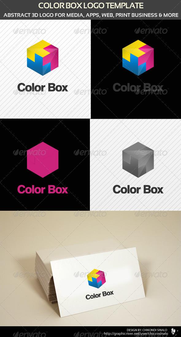 GraphicRiver Color Box Logo Template 1550802