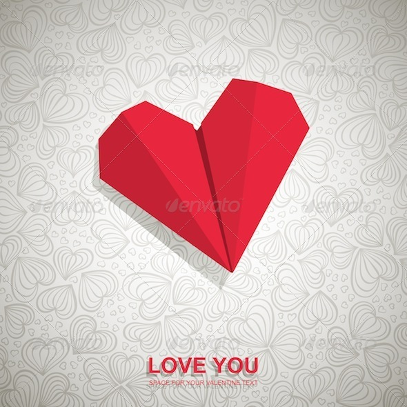 Graphic River Valentine s Card Vectors -  Conceptual  Seasons/Holidays  Valentines 1554757