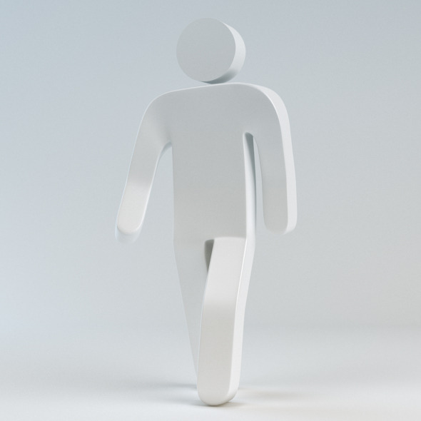 3DOcean 3D Helvetica Man with rig 1554760