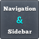 Web Navigation and Sidebar Elements - GraphicRiver Item for Sale