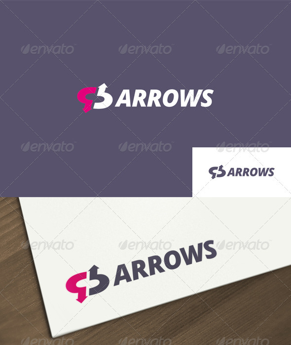GraphicRiver Arrows Logo 1556812