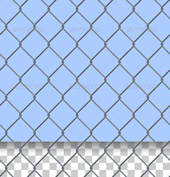 GraphicRiver Security Fence Pattern 1556831