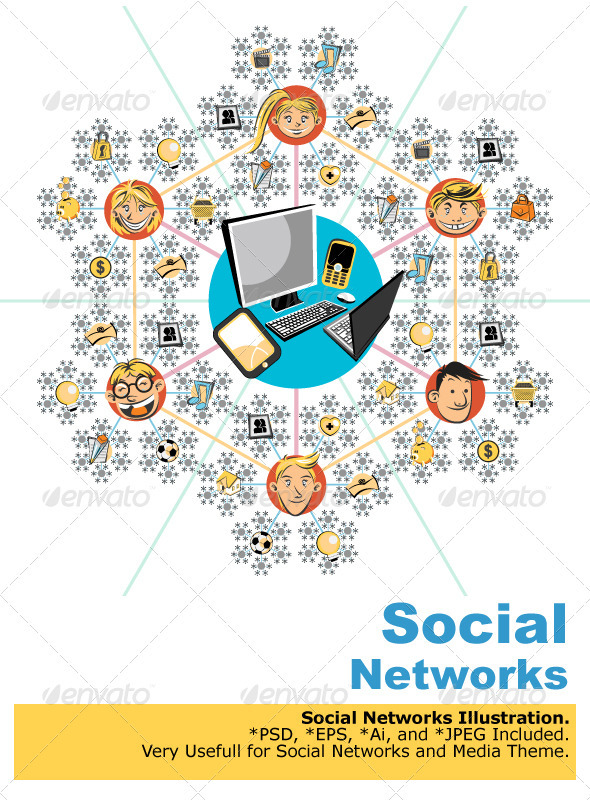 GraphicRiver Social Networks 1557256
