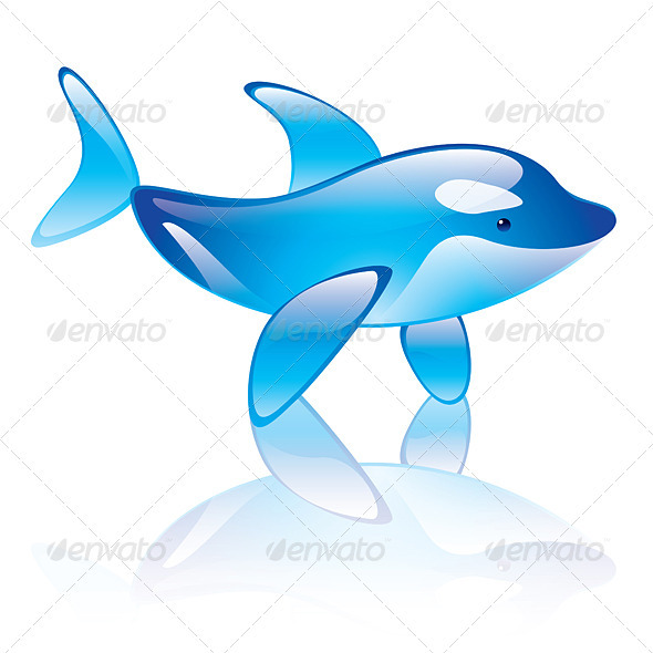 Graphic River Orca Vectors -  Characters  Animals 1557662