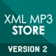 XML MP3 STORE V2 - ActiveDen Item for Sale
