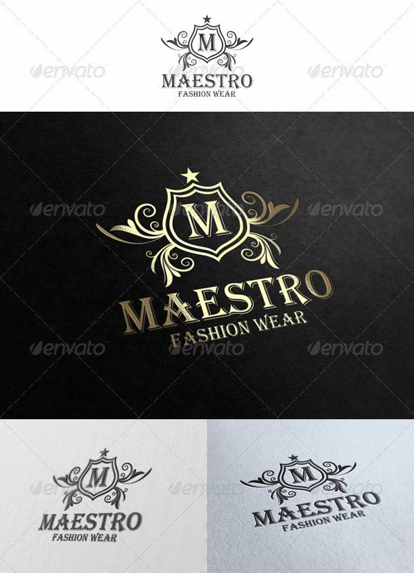 GraphicRiver Maestro Logo Template 1563673