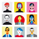 Avatar Set Businessmen Businesswomen - GraphicRiver Item for Sale