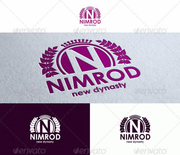 GraphicRiver Nimrod Logo Template 1564458