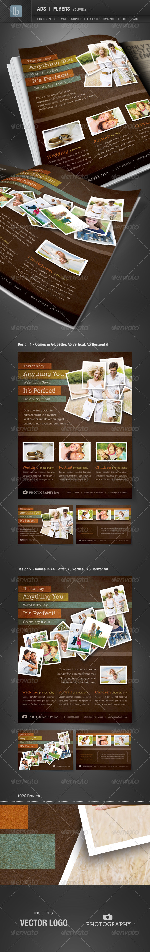 GraphicRiver Ads Business Flyers Volume 2 1363853