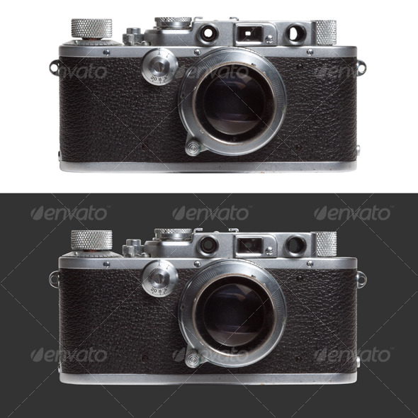 GraphicRiver Old compact camera 55241