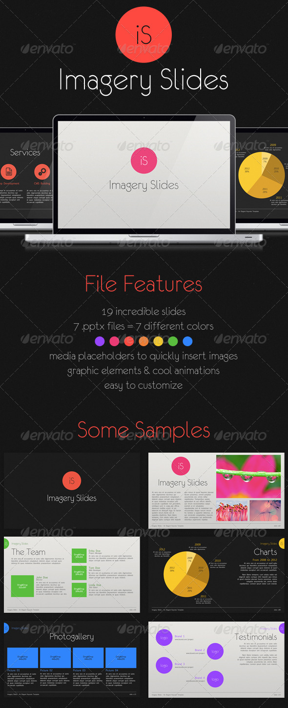 GraphicRiver Imagery PowerPoint Photography Template 1568138