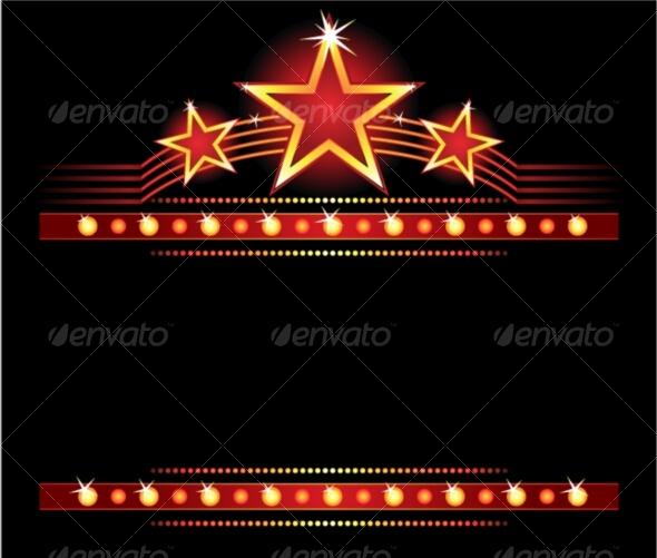 GraphicRiver Stars over copyspace 61686